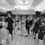 Dancing up the aisle at Plas Hafod Hotel